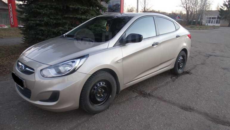 Hyundai Solaris, 2011 год, 458 000 руб.