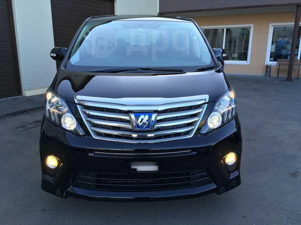 Toyota Alphard, 2012 год, 1 555 000 руб.