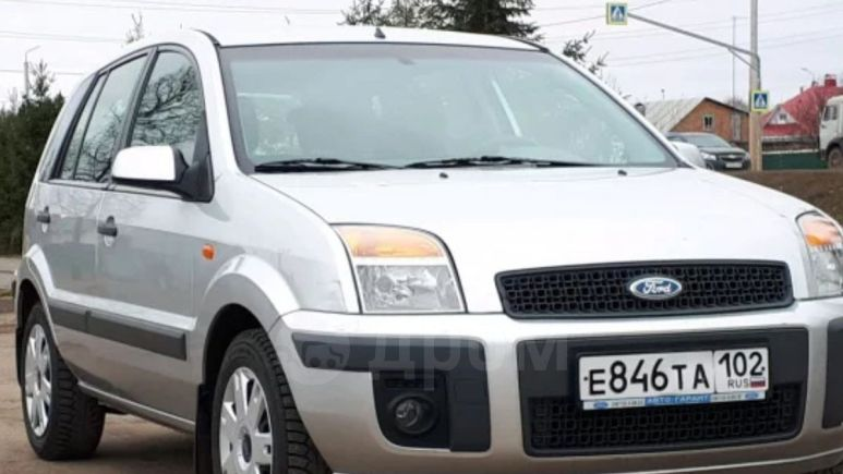 Ford Fusion, 2008 год, 297 000 руб.