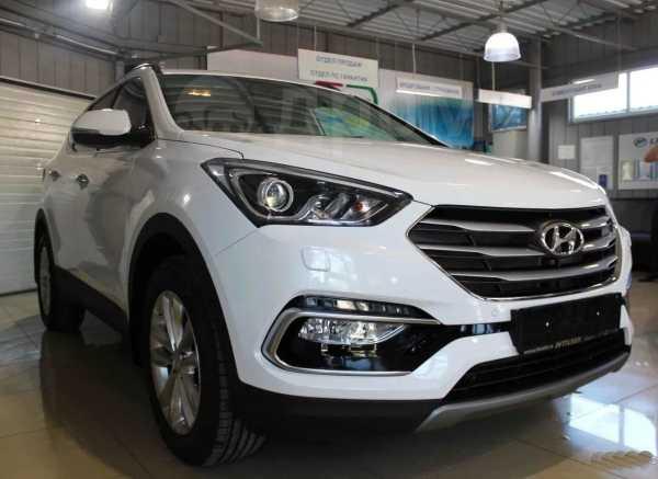 Hyundai Santa Fe, 2018 год, 2 049 000 руб.