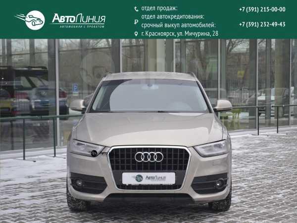 Audi Q3, 2012 год, 999 000 руб.