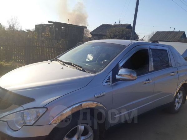 SsangYong Actyon Sports, 2007 год, 430 000 руб.