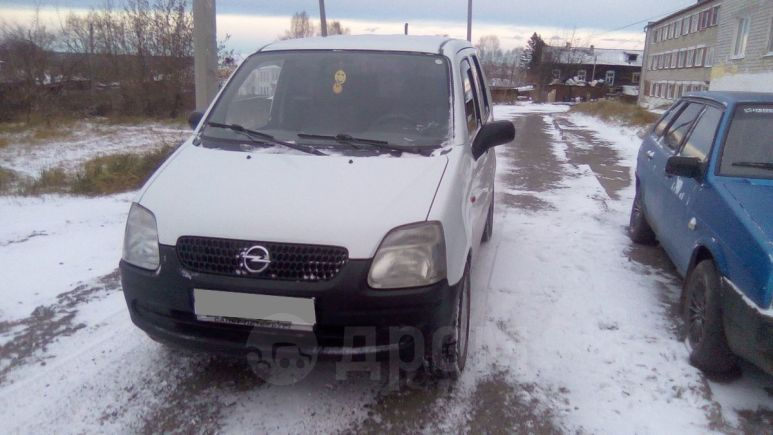 Opel Agila, 2002 год, 147 000 руб.