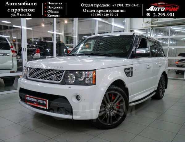 Land Rover Range Rover Sport, 2010 год, 1 517 000 руб.