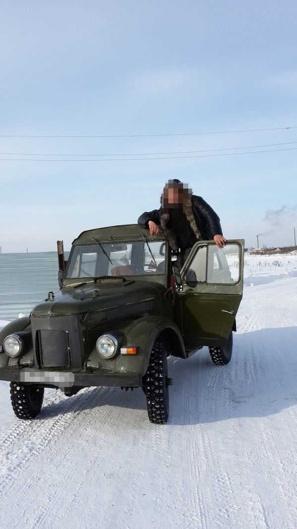 ГАЗ 69, 1980 год, 95 000 руб.