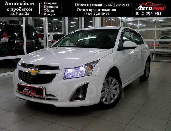 Chevrolet Cruze, 2014 год, 617 000 руб.