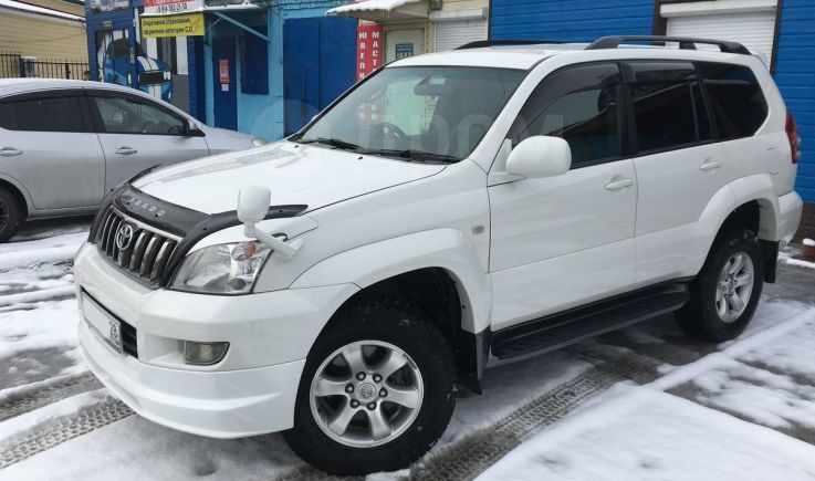 Toyota Land Cruiser Prado, 2007 год, 1 470 000 руб.