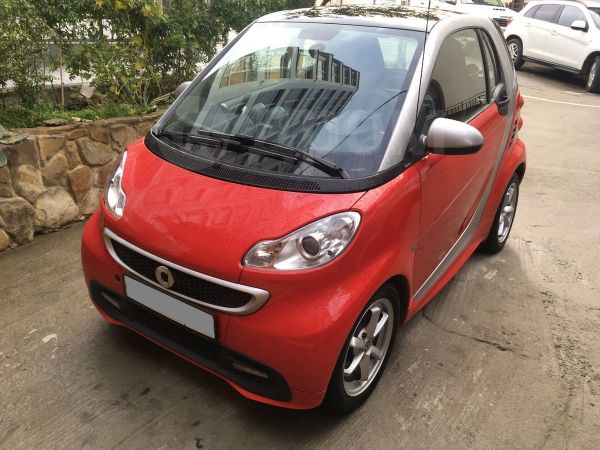 Smart Fortwo, 2012 год, 450 000 руб.
