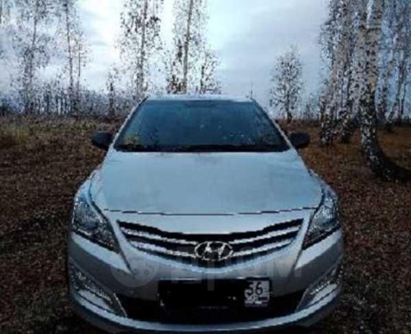 Hyundai Solaris, 2015 год, 645 000 руб.
