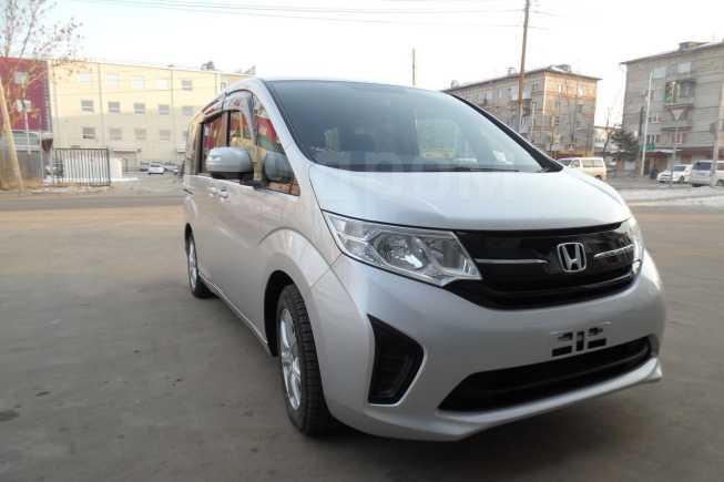 Honda Stepwgn, 2015 год, 999 000 руб.