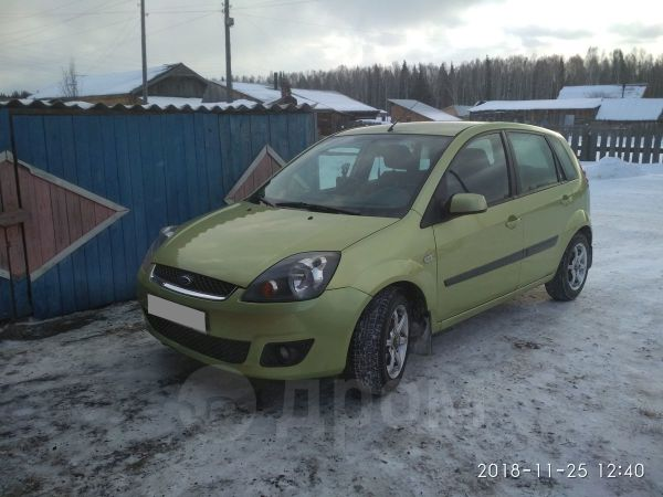 Ford Fiesta, 2006 год, 260 000 руб.