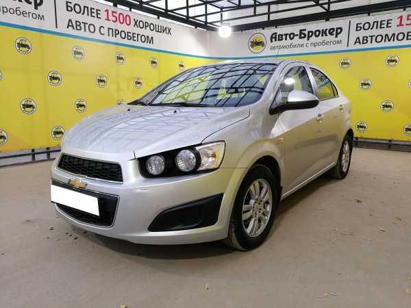Chevrolet Aveo, 2014 год, 537 000 руб.