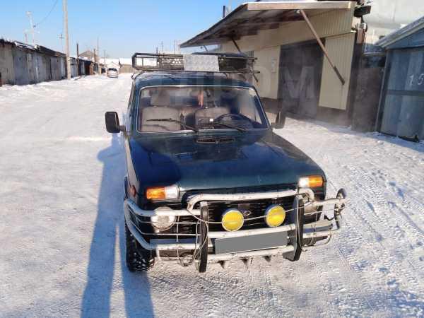 Лада 4x4 2121 Нива, 1998 год, 85 000 руб.