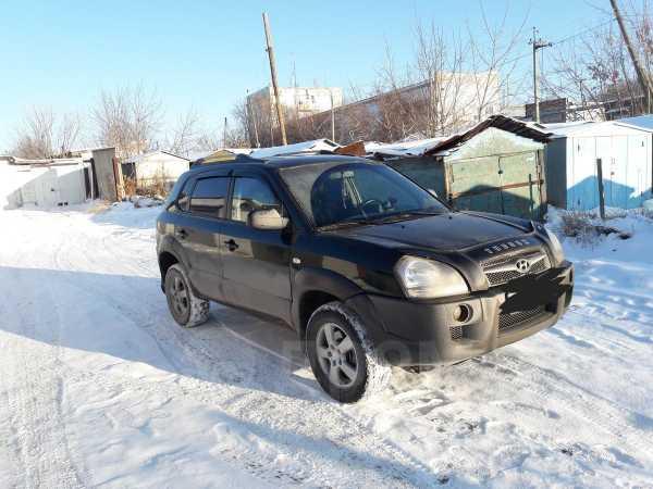 Hyundai Tucson, 2008 год, 420 000 руб.