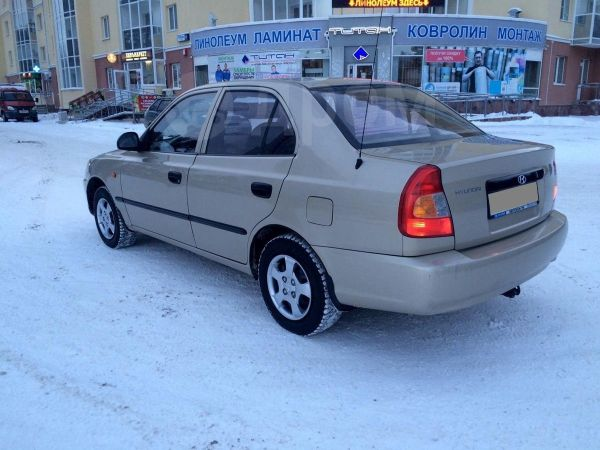 Hyundai Accent, 2005 год, 207 000 руб.