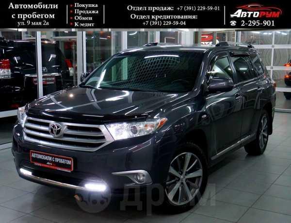 Toyota Highlander, 2011 год, 1 287 000 руб.