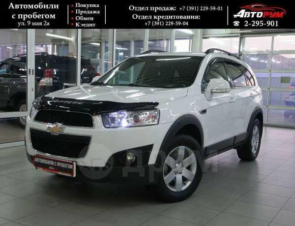 Chevrolet Captiva, 2012 год, 877 000 руб.
