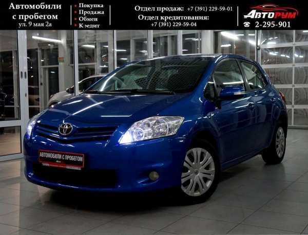 Toyota Auris, 2010 год, 740 000 руб.