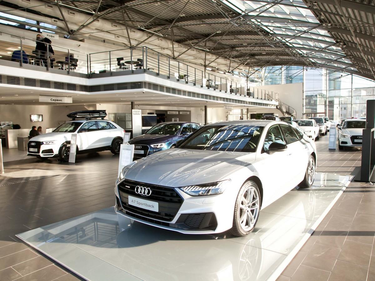 Audi Центр Бережковский