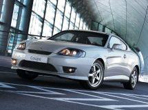 Hyundai Coupe рестайлинг 2005, купе, 2 поколение, GK