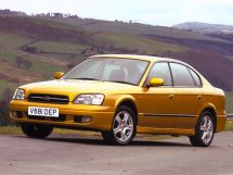 Subaru Legacy 3 поколение, 06.1998 - 04.2003, Седан