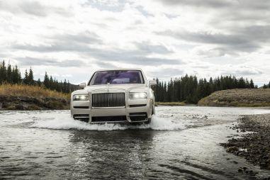 «Живые» внедорожники Rolls-Royce Cullinan прибыли в Россию