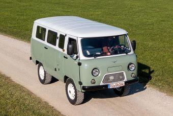 Новая «Буханка» в Германии стоит 20 000 евро.
