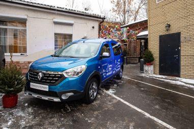 Renault привезла в Россию кросс-версию Доккера