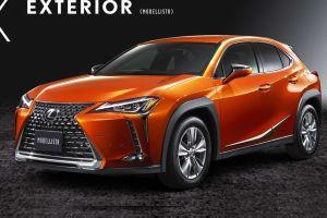 Ателье Modellista подготовило стайлинг-комплекты для Lexus UX