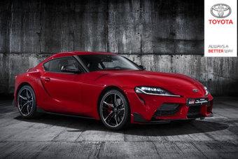 Официальные фотографии Supra случайно появились в опции предзаказа немецкой Toyota