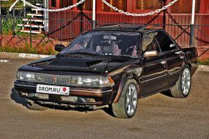 Народное ретро. Toyota CarinaED 1988года. Чисто пацанская