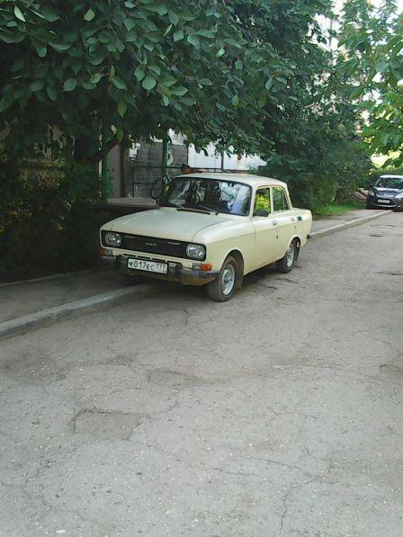 Москвич 2140 1985 - отзыв владельца