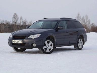 Subaru Outback 2007 отзыв автора | Дата публикации 21.12.2018.