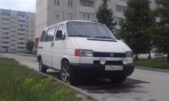 Volkswagen Transporter 1994 - отзыв владельца