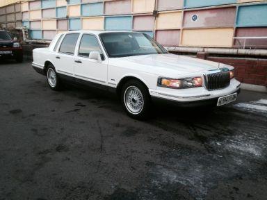 Lincoln Town Car, 1996