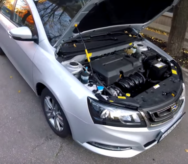 Geely Emgrand EC7, 2016