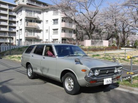 Nissan Vanette 1980 - отзыв владельца
