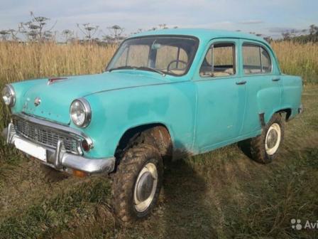 Москвич 410 1960 - отзыв владельца
