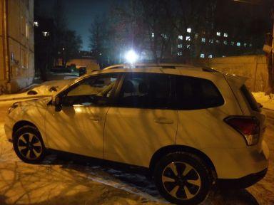 Subaru Forester 2018 отзыв автора | Дата публикации 09.12.2018.