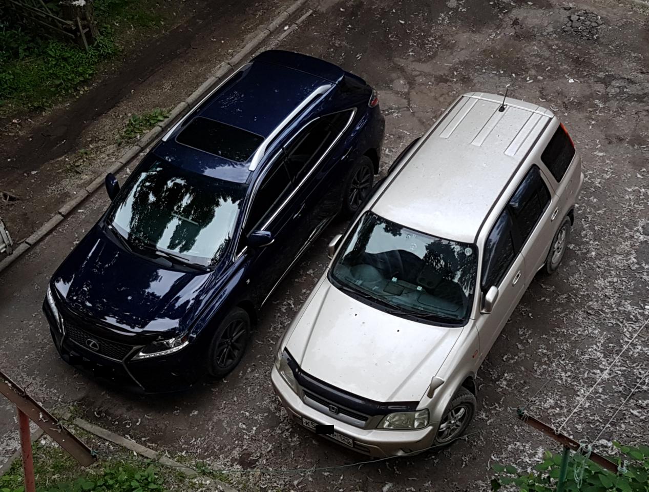 Две мои машины - новая и старая
