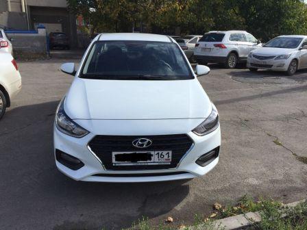 Hyundai Solaris 2018 - отзыв владельца