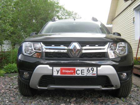 Renault Duster 2017 - отзыв владельца