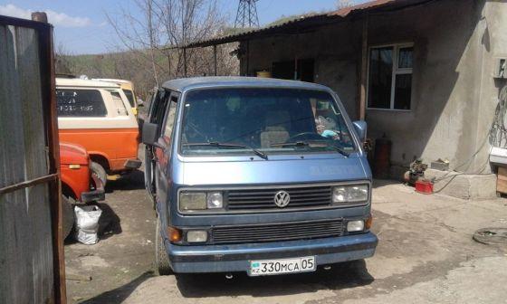 Volkswagen Multivan 1989 - отзыв владельца