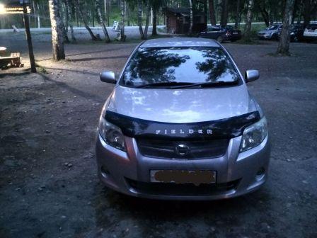 Toyota Corolla Fielder 2008 - отзыв владельца