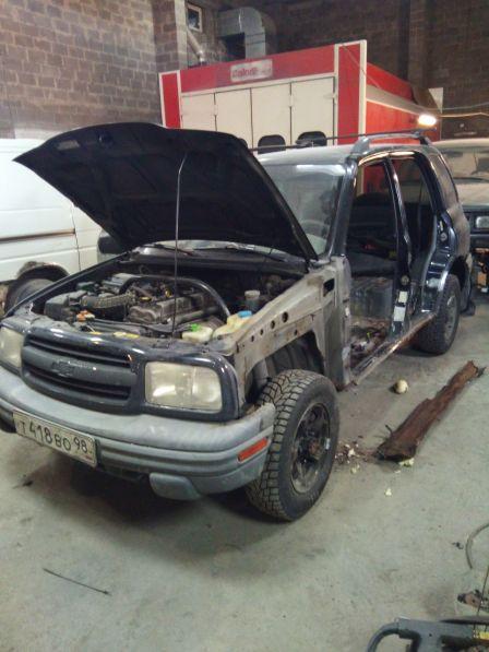 Chevrolet Tracker 2000 - отзыв владельца