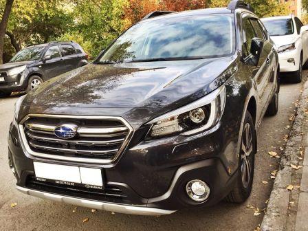 Subaru Outback 2018 - отзыв владельца