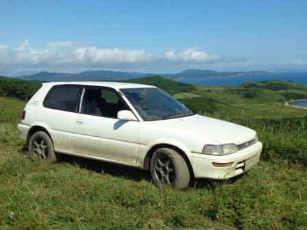 Toyota Corolla FX 1991 - отзыв владельца