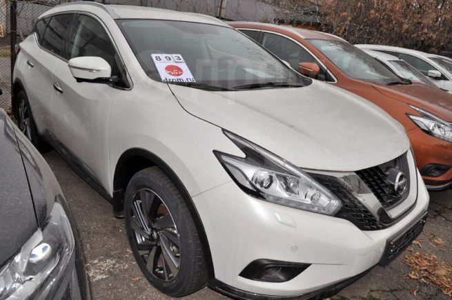Nissan Murano, 2018 год, 2 923 660 руб.