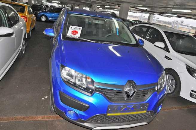 Renault Sandero Stepway, 2018 год, 732 830 руб.