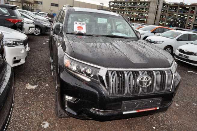 Toyota Land Cruiser Prado, 2018 год, 3 836 000 руб.